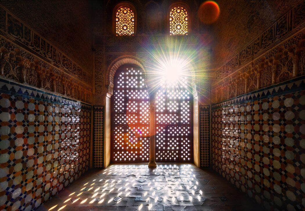 Alhambra salón de embajadores o salón del trono