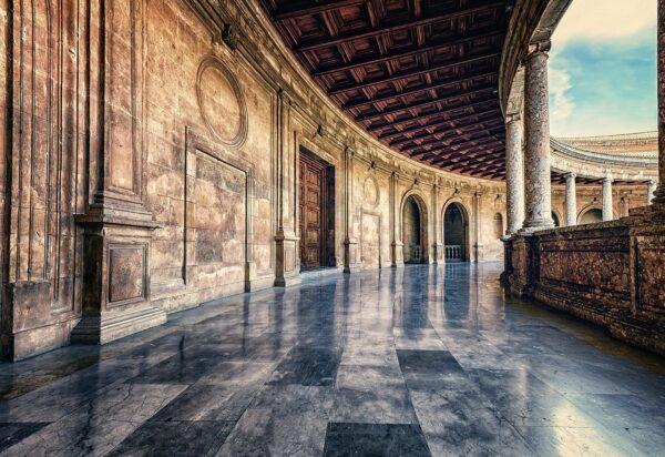 Palacio de Carlos V Tour Alhambra entorno