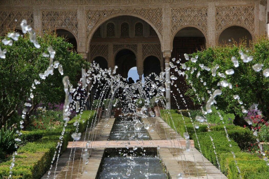 Granada Alhambra Jardines Generlife
